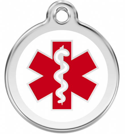 Red Dingo Medical ID Tag